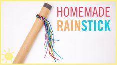 Your child will love playing with this easy DIY rain stick! The soothing sounds will both entertain and relax them!