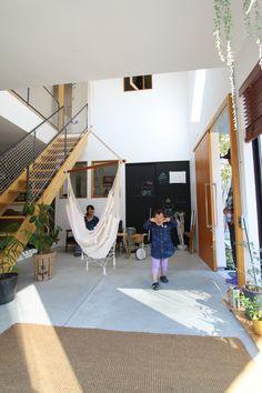 Interior Living Room Design Trends for 2019 - Interior Design Interior Stairs, Home Interior Design, Interior Architecture, Interior And Exterior, Hemnes, Loft Design, House Design, Small Tiny House, Hammocks