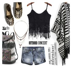 """""""Outdoor Summer Concert"""" by ansev ❤ liked on Polyvore"""