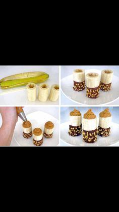 Otro estilo de hacer choco bananos
