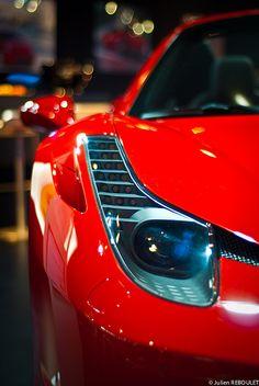 Ferrari 458 at SALON AUTO LYON 2011 by julien.reboulet, via Flickr
