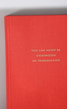 kate spade: large journal - never overdressed