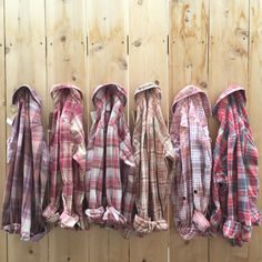 Bridal Party 6 pack small flannels. Hipster Rose. Bridesmaids gift, rustic…