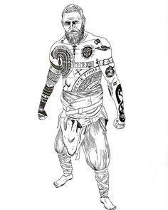 Baldur The Stranger Baldur The Stranger Rune Tattoo, War Tattoo, Sak Yant Tattoo, Norse Tattoo, Celtic Tattoos, Viking Tattoos, God Tattoos, Body Art Tattoos, Vikings