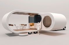 On the road | Urbis Magazine The Romotow - designed in New Zealand - cool idea for travelling!