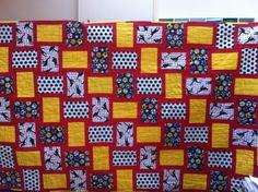 soccer quilt/ woven quilt