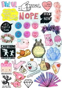 New to BestStickersClub on Etsy: Set #35. Tumblr Stickers. Stickers. Set of stickers. Decals (2.49 USD)