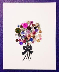 bosje bloemen van knopen