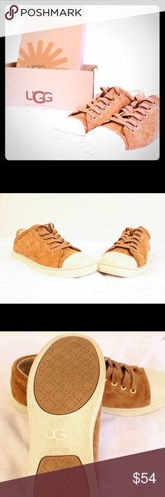 UGG Taya Sneakers Excellent condition Suede upper/UGGpure™ lining/rubber sole Price firm. No trades. Buy for less at www.chicboutiqueconsignments.com UGG Shoes Sneakers