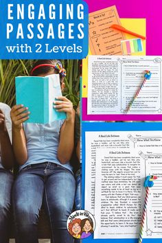 Close reading is a popular English language arts skill that's been a buzzword in reading education for at least a few years now. To help you deliver effective close reading instruction to your 3rd grade, 4th grade, or 5th grade reading students, we've developed this Text Time resource. It's differentiated with two reading levels to reach all learners, and it guides your students through digging deep into their reading to practice reading comprehension skills. Click through to learn more now! Reading Practice, 5th Grade Reading, Reading Skills, Passage Writing, Text Dependent Questions, Mood And Tone, Reading Comprehension Passages, Context Clues, English Language Arts