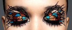 36 Super ideas for eye shadow crazy halloween Love Makeup, Makeup Art, Beauty Makeup, Hair Makeup, Fun Makeup, Dramatic Makeup, Makeup Eyes, Crazy Eyeshadow, Butterfly Eyes