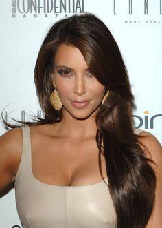 kim kardashian hair color - Google Search