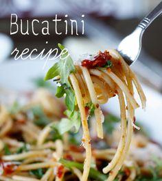 Bucatini recipe - tupperware uk