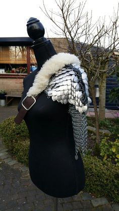Scalemail shoulder armour My selfmade chainmail is also on facebook @ Ivy's Scale Mail