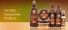 MY DNA was created for spiral hair of every texture and for natural hair consumers who embrace their cultural DNA.