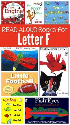 Letter F Book List- Read Alouds for the Letter F