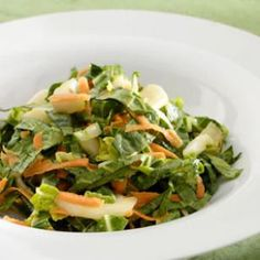 Bok Choy-Apple Slaw.... made an altered version on 6/24... to use up Bok Choy in the fridge from last week's CSA