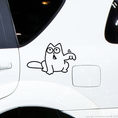 Customize your #car using this cute Fill Here #sticker.