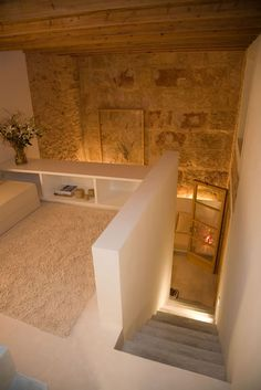 "luxuryaccommodations: ""S´Hotelet de Santanyi - Mallorca, Spain Enjoying an idyllic location in the historical Mallorcan town of Santanyi, S'Hotelet de Santanyi is a delightful boutique hotel that. Home Interior Design, Interior Architecture, Interior And Exterior, Stone Houses, Home Deco, My Dream Home, Future House, Sweet Home, New Homes"
