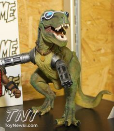 Toy Fair 2013 - Figures Based On The Upcoming AXE Cop Animated Seires From Fox - - Action Figures Toys News ToyNewsI.com