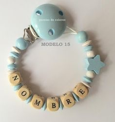 Chupetero de madera Washer Necklace, Clothes, Jewelry, Templates, Necklaces, Bangle Bracelets, Pacifiers, Wood, Bebe
