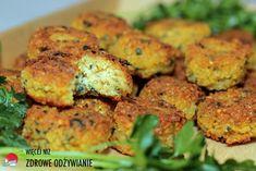 Falafel po mojemu, czyli bez sody, mąki i jajka, zdrowe odżywianie, zdrowe przepisy, przepisy wegetariańskie, bezglutenowe