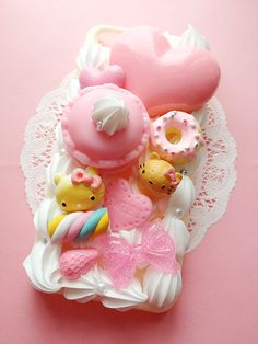 SUPER SALE Ready To Ship Cute Kawaii Iphone 5 Decoden Case