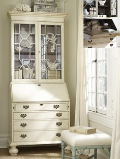 secretary desk -- love this desk. Not sure where I'd put another piece of furniture in my home, but somewhere