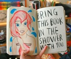 Yes <3 Ariel will be making an appearance in my journal.