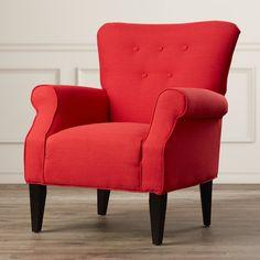 Alcott Hill Delia Button Back Armchair