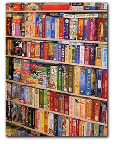 Organize This in 15 Minutes: Board Games