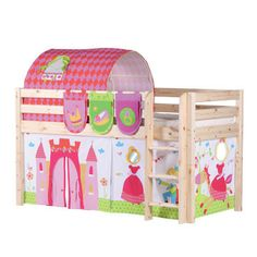 Flexa Classic Bed Package Princess | Pink Beds | Affordable Kids Beds |