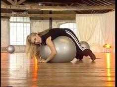 Jill Cooper - 10 min stretching Tonificare e Allungare - YouTube