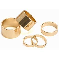 Pieces Pcvigilia Combi Rings