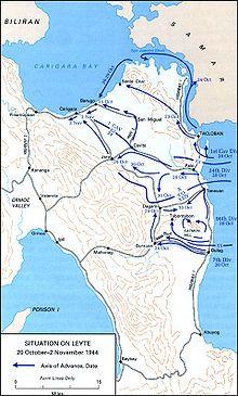Schlacht um Leyte – Wikipedia