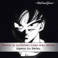 Nunca te conformes #ShuOumaGcrow #Anime #Frases_anime #frases