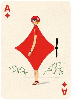 Folio Society - Playing Cards - Jonathan Burton