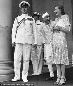 A spicy menage a trois: The shocking love triangle between Lord Mountbatten, his wife and the founder of modern India