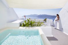 Interiors by the City: { Kirini Santorini Hotel   Greece }