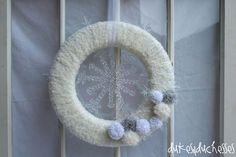 a winter wreath
