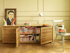 Max 3 door sideboard, usable for any type of storage. #Habitat