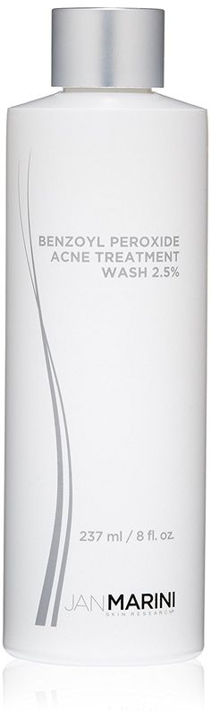 Jan Marini Skin Research Benzoyl Peroxide Acne Treatment Wash 2.5%, 8 fl. oz. ** This is an Amazon Affiliate link. Be sure to check out this awesome product.