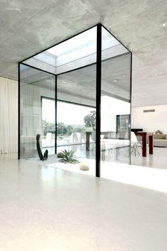 interior life size terrarium atrium