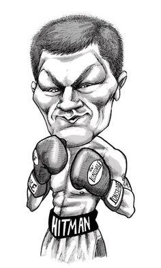 Ricky Hatton - Boxer - caricature