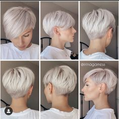 Edgy Short Hair, Short Hair Trends, Short Hair Cuts For Women, Short Hair Styles, Short Pixie Haircuts, Cute Hairstyles For Short Hair, Great Hair, Hair Inspiration, Hair Beauty