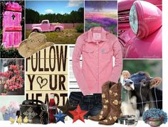 """Country Girl"" by tacciani ❤ liked on Polyvore"