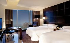 Hotel Room Interior Design | Exotic Interior Design of Five Star Hotel Rooms with Beautiful Color ...
