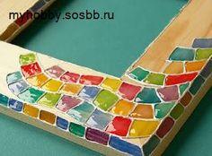 Как сделать мозаику с трехмерным эффектом. Поделки из дерева - Декор