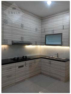 design kitchen set minimalis modern serpong gavin