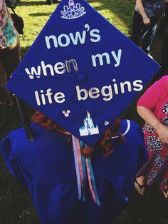 Disney graduation cap idea